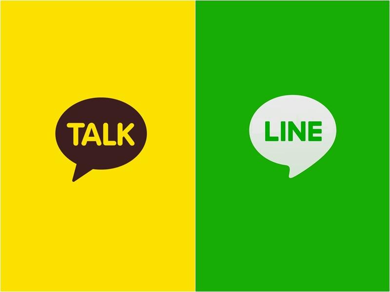 每個國家使用的通訊軟體都不一樣~台灣最多人用的LINE,韓國最多人用「Kakao Talk」,而且市佔率高達8成多!