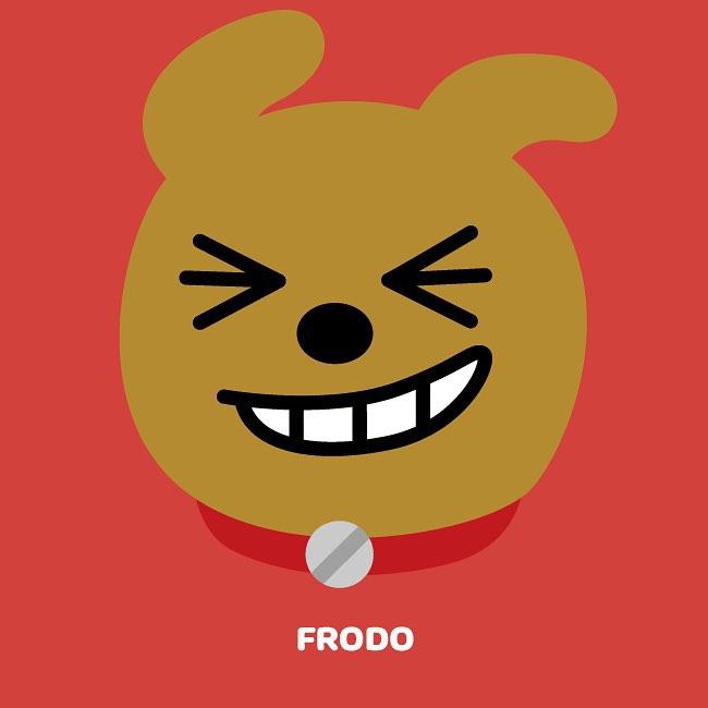 #FRODO:富家犬 住在大都市的FRODO,家境非常好!