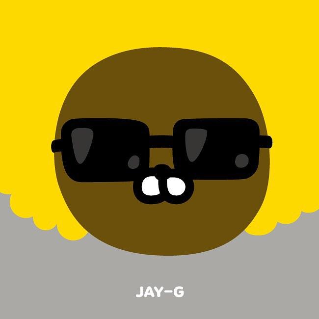 #JAY-G:時髦的祕密特務 Jay-G是隻鼴鼠(但看起來像獅子XDD),為了工作他離開了地底的家。他對自己的風格超講究:燕尾服、太陽眼鏡、蓬蓬的頭髮。