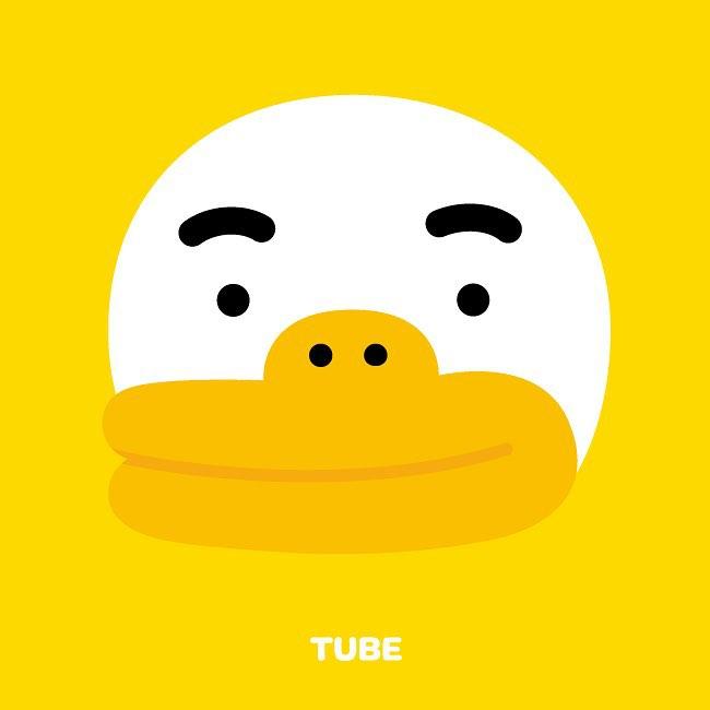 #TUBE:膽小、易怒的鴨子 和醜小鴨是親戚的TUBE,是隻膽小、感性的鴨子。為了隱藏他天生迷你的小腳,TUBE都會穿上鴨子鞋。