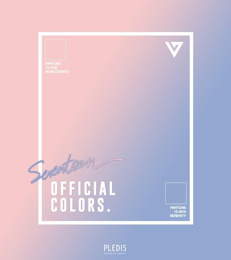 但最近大家在觀看Wanna One的公告時,卻一直聯想到SEVENTEEN的應援色......