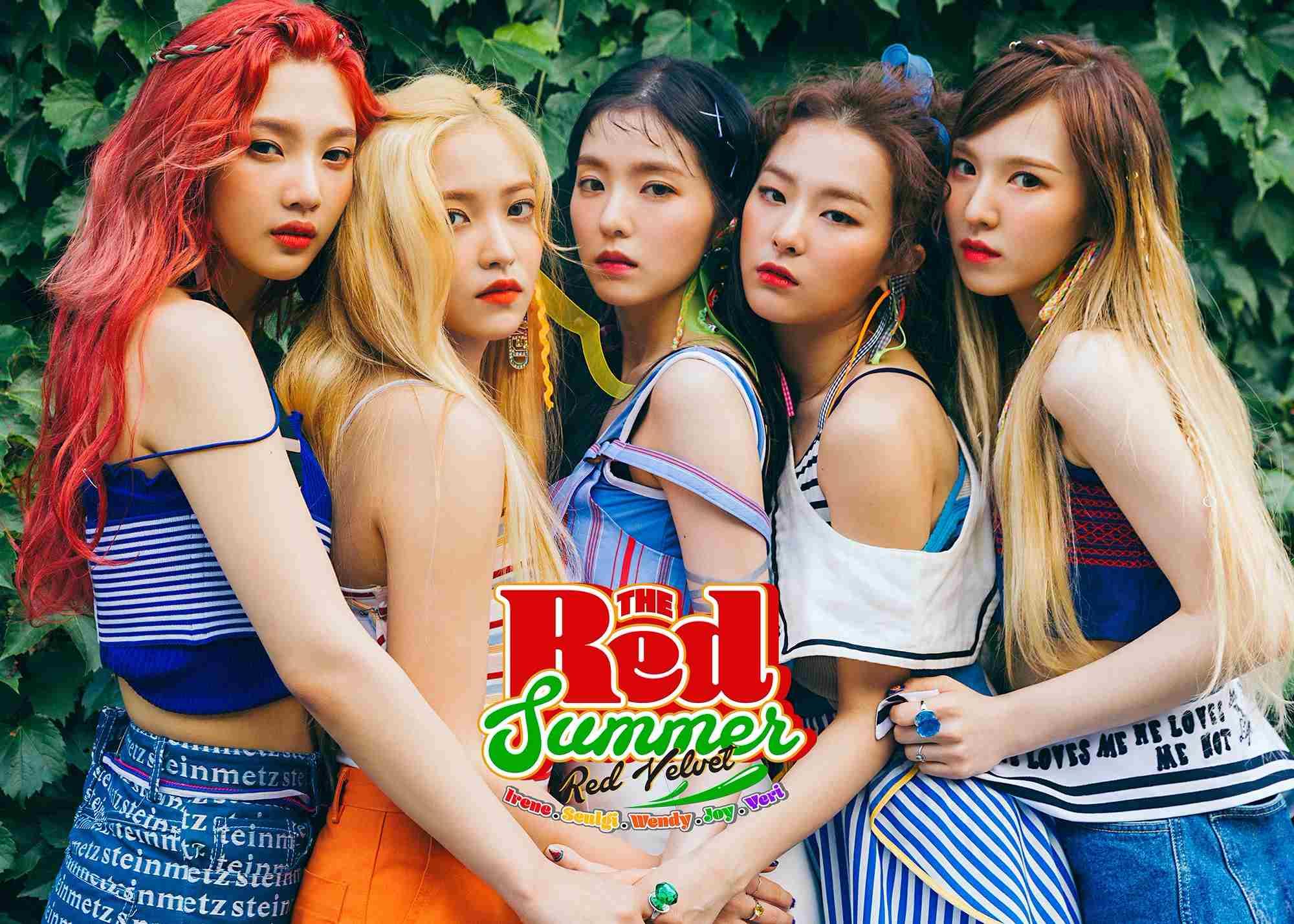Red Velvet在7月9日帶著迷你專輯《The Red Summer》回歸