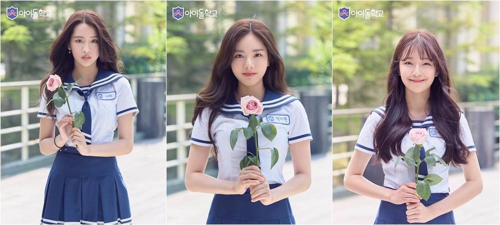第6名:백지헌 第5名:박지원 第4名:나띠 曾是JYP旗下練習生的NATTY和朴智媛都有不錯的成績~