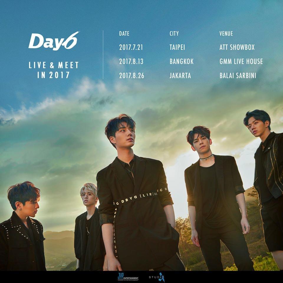 昨晚JYP樂團DAY6來台灣~ 大家也去現場感受他們的實力和親和力了嗎? 小編就來告訴大家昨晚DAY6在ATT發生的趣事~