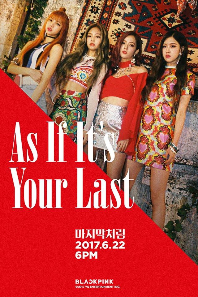 除了在日本獲得好成績的消息之外~ 粉墨的新曲《AS IF IT'S YOUR LAST》的MV最近也打破了最快突破8000萬觀賞次數的紀錄呢 ! YG怪物新人的威力真的好驚人~