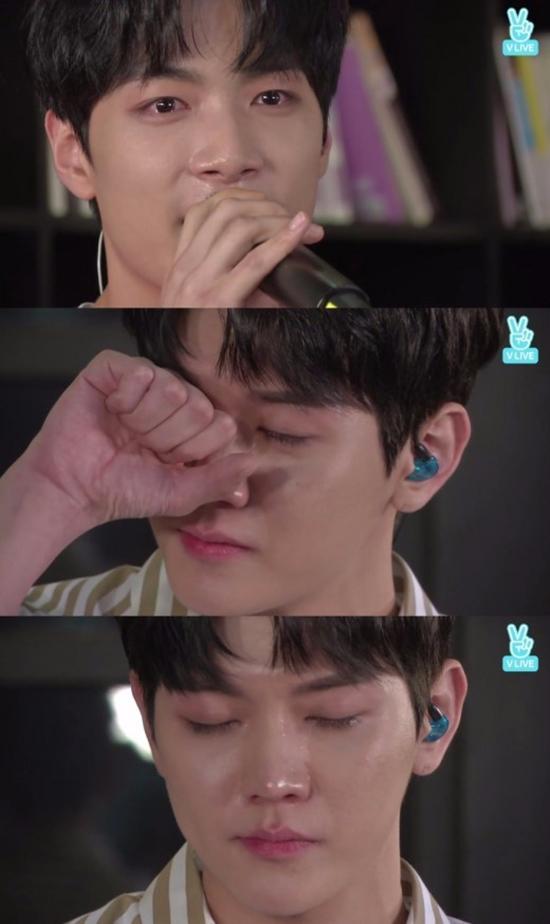 昨晚NU'EST W感謝粉絲而開的Mini Concert