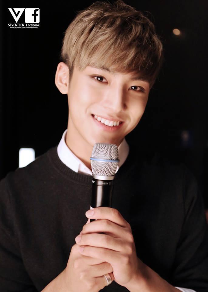 TOP3 SEVENTEEN  珉奎 身高:186公分 珉奎的身高和好身材也讓他受邀成為幾場時尚秀的模特兒呢! 不過珉奎和成員Woozi的身高差,也是SEVENTEEN的萌點之一啊! 兩人的身高差竟有22公分呢~