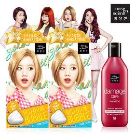 7.[mise en scene] HELLO BUBBLE 泡沫染髮劑 在台韓間一直非常熱賣的就是他們家的泡沫染髮劑啦!不過這款摩登少女沒有用過,不知道有沒有用過的人可以分享一下心得呢?