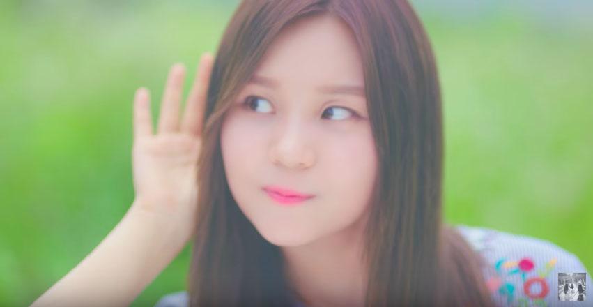 而MV拍攝的濾鏡也被讚賞「很夢幻」多了一份小仙子的氣息