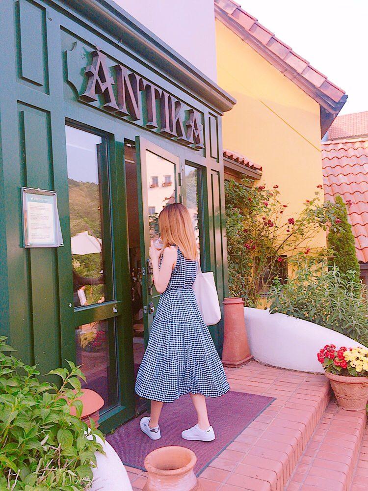 裡面有很多小房子,每個房子裡都是不一樣的哦~都是當時法國的東西~超美有沒有!