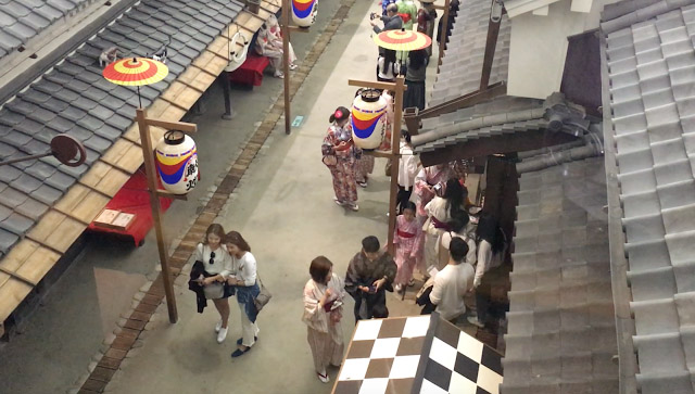 2.大阪生活今昔館  大阪生活今昔館是遊客常常會漏掉的遊大阪好去處,館內不僅有江戶時期的建築佈景,還有免費的和服體驗,是個可以拍照留下回憶的好去處喔!