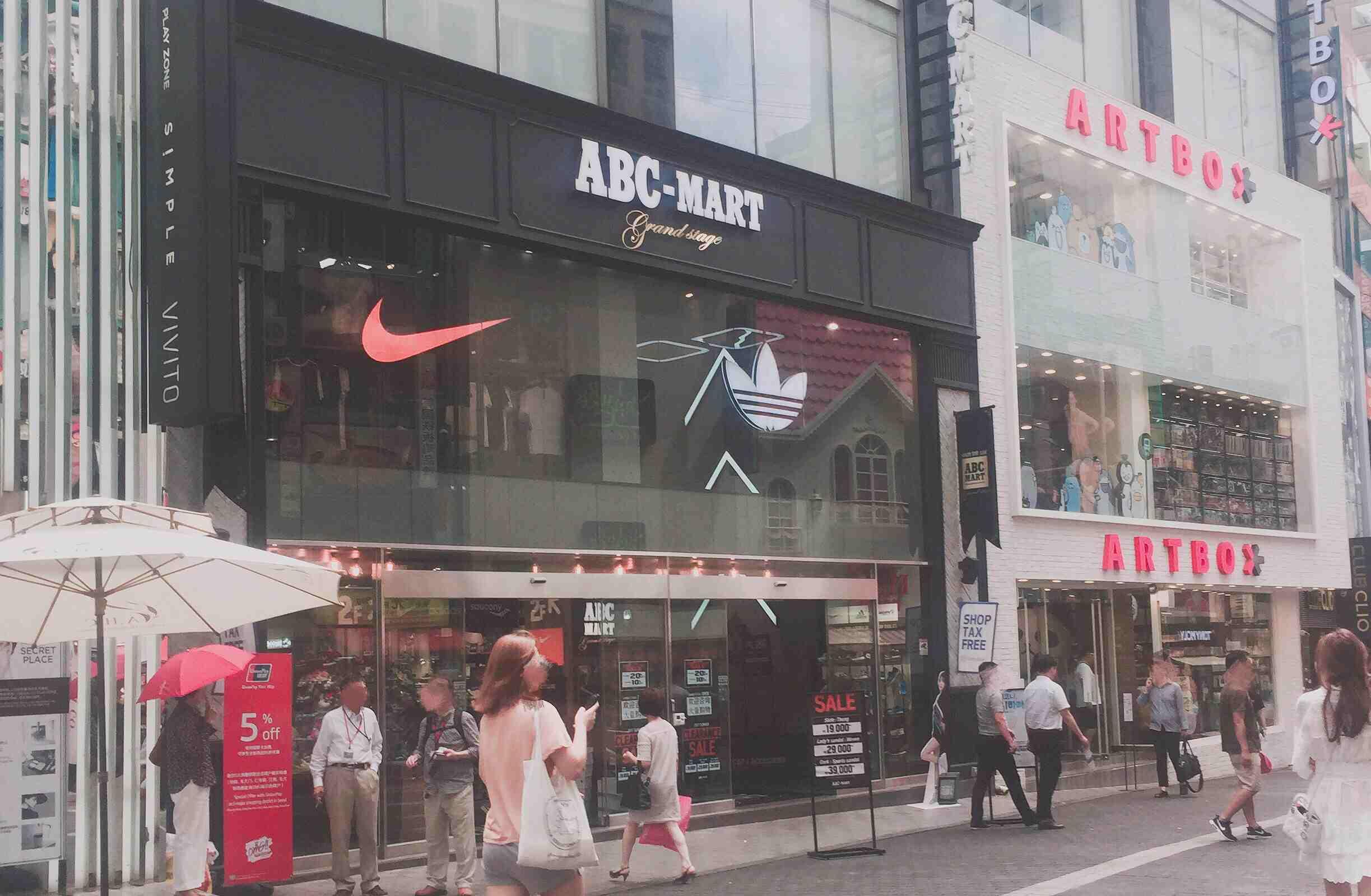 ABC-Mart和Floder相似,雖是日本品牌,但卻深受歐巴歐尼的喜愛