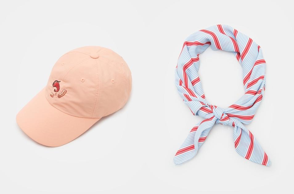 還有可愛的帽子以及髮飾!顏色相當的繽紛可愛,完全適合夏天啊各位!
