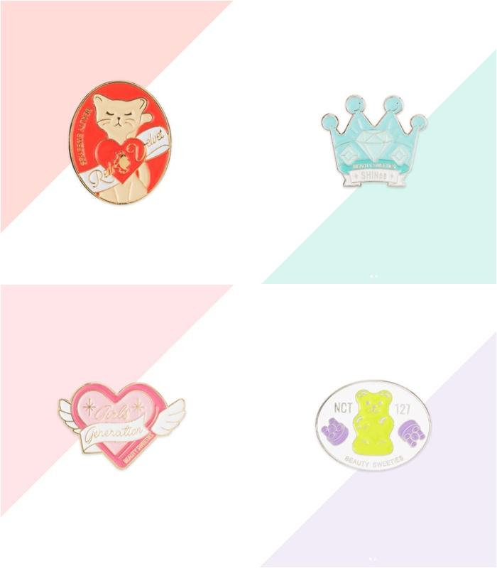 8/15以前上傳照片到任何社群網站並且標記Beauty Sweeties就有1000個人可以得到這些限量胸章! 但這是韓國當地活動喔~剛好去玩的人可以排進行程!