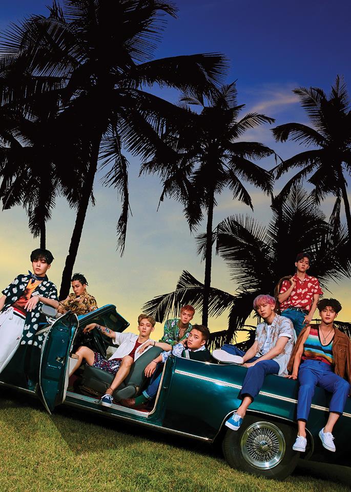 而之後緊接著EXO的閃電回歸。 如許多人預測EXO將在夏天回歸,EXO回歸的日期也剛好在7月,而EXO的正規四輯《The War》也是搭上了夏天的風格。 雖然專輯名稱為《The War》(더 워)表達了EXO的世界觀,但也可以解釋為好熱(더워)。  主打歌《Ko Ko Bop》則是一首符合夏天氛圍的雷鬼風歌曲。  所以也決定在夏天發行~