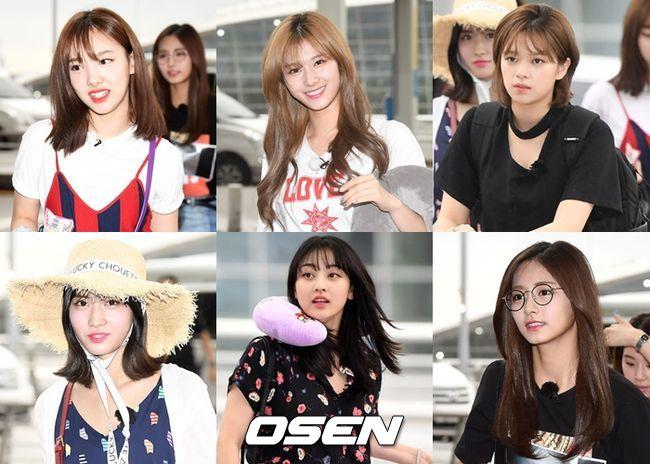TWICE最近忙碌於消化海外行程已經好一陣子沒在電視上看到她們了,今天(17日)TWICE為錄製《團結才能火》越南篇出現在韓國仁川機場