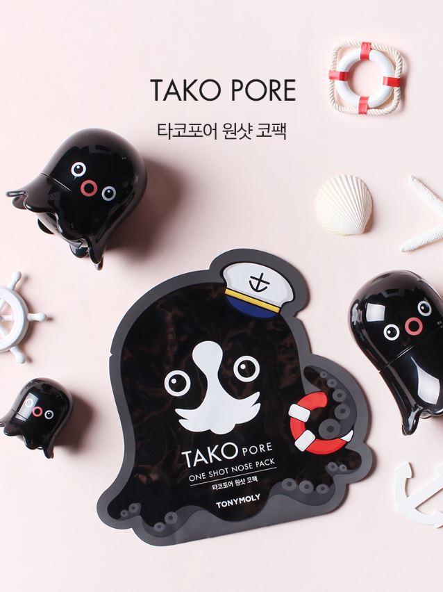 因應夏天的悶、熱、汗,韓國平價美妝品牌TONYMOLY推出了可愛又實用的黑章魚毛孔清潔商品!想到章魚就覺得吸附髒汙的能力一定特別強吧!