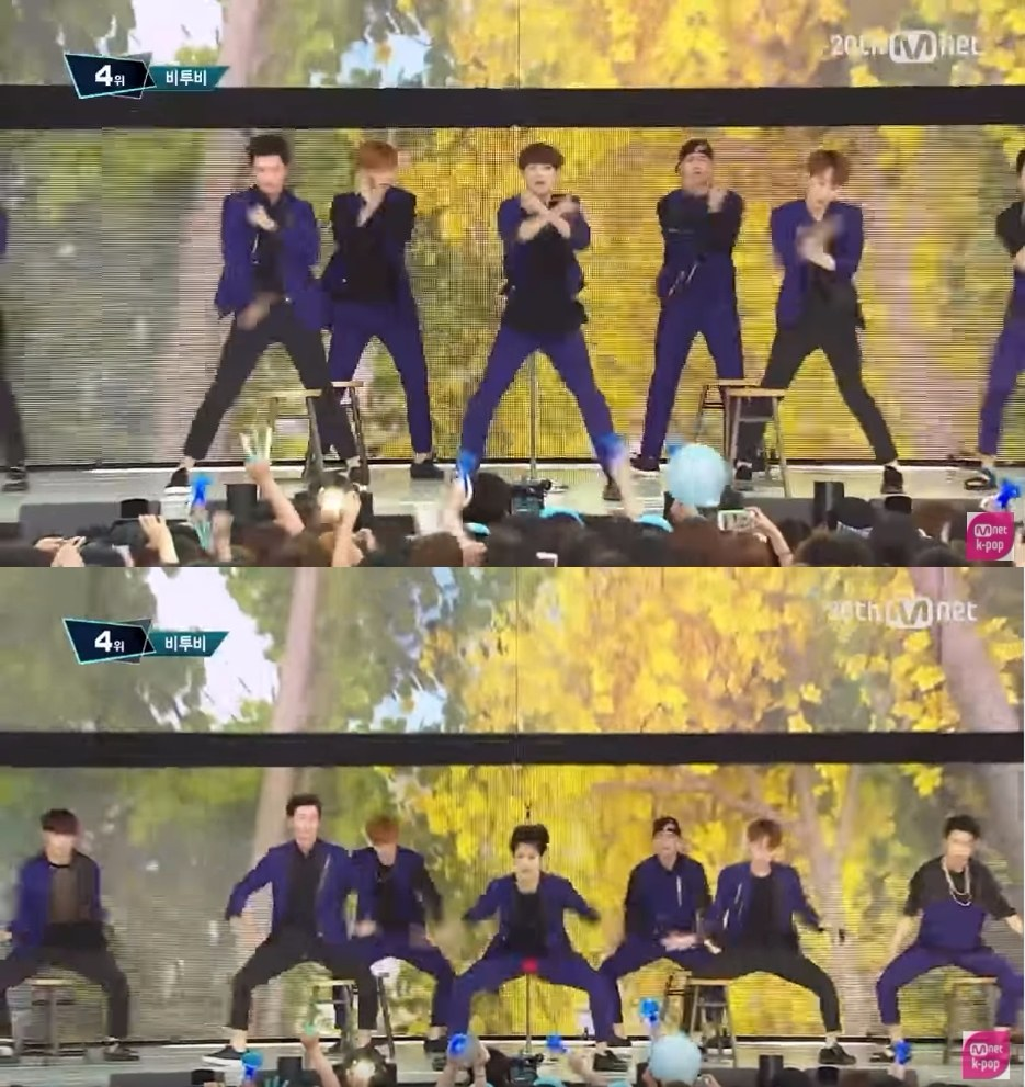 在2015年時《沒關係》的室外舞台時,旼赫就在一個開腿的舞蹈動作時,不小心褲子破掉,露出了紅色的底褲,讓當時正在收看直播的粉絲嚇了一大跳,但是後來的放送版本時,M COUNTDOWN的導播便將這段切成遠景的畫面,保護了旼赫。