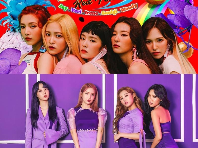粉絲應該都知道Red Velvet和MAMAMOO是相當要好的兩個團體。 成員也在節目上說過,因為出道的時間相近,所以一直很想變親,後來有一次活動中,兩團的車子停在一起,一開門就見了面下便交換了號碼成為了好朋友。