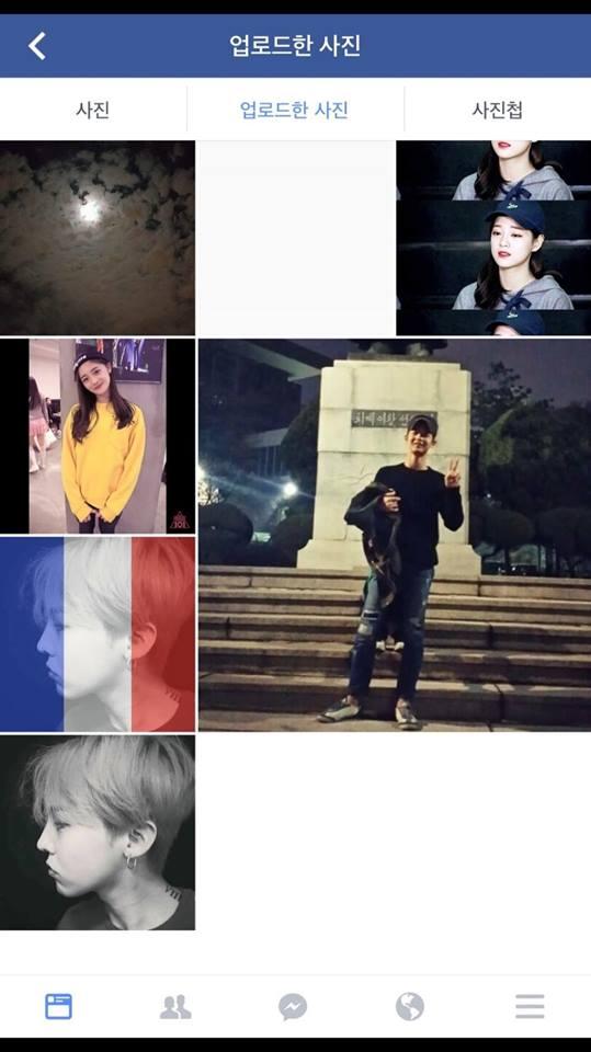 他的SNS上傳照片發現 不只周潔瓊還是GD的粉絲