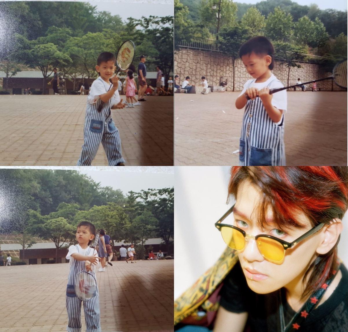 而EXO的伯賢也在最近公開了小時候的照片,原來伯賢小時候就走在時尚的尖端啊!竟剪了個跟《Ko Ko Bop》時期一樣的髮型呢! 不過伯賢也是一點都沒變啊!