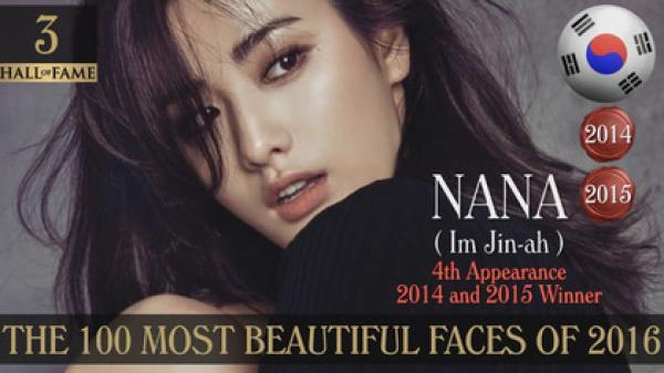 大家有關注每年定期公布的百大美女榜嗎? 不只TWICE台灣成員周子瑜上榜(15年13位,16年8位) 還有連續兩次拿到冠軍,去年則是拿到三位的超威女神!!! 就是After School的Nana
