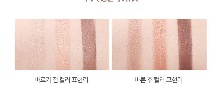 擦在手上這個差異也太大了吧!左邊的眼影淺的那兩色也太不顯眼了吧!右邊完全超級顯色啊!