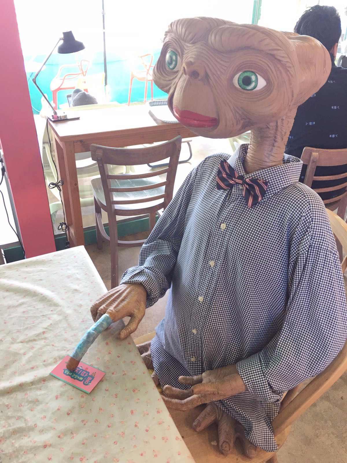 還有ET陪你喝咖啡(誤)