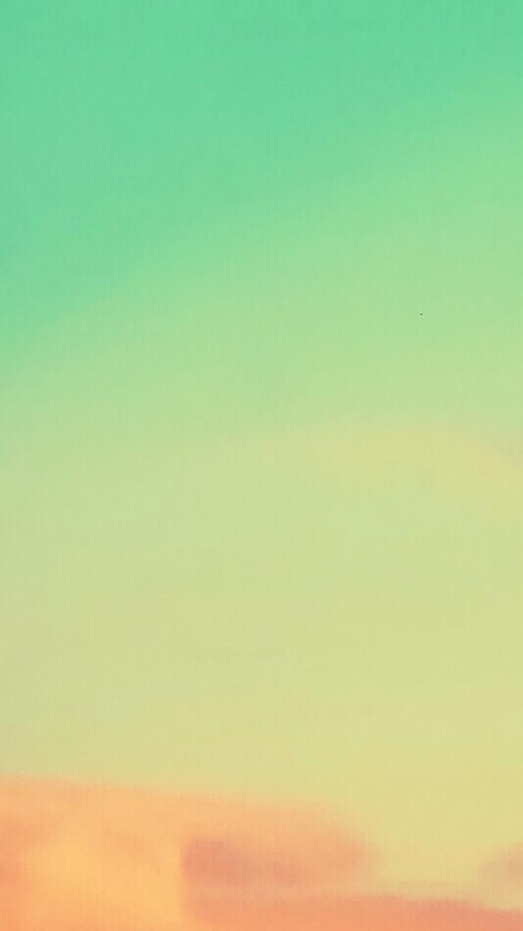 橘色+綠色漸層竟雸也美成這樣!