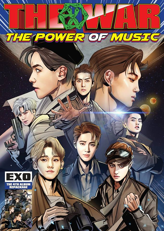 在今天下韓又將公開新歌,這次主題似乎是「宇宙大戰」,雖然連粉絲也笑說光看MV預告就覺得「很中二」,但突破EXO先前的風格的後續曲,也早已讓不少粉絲開始期待。