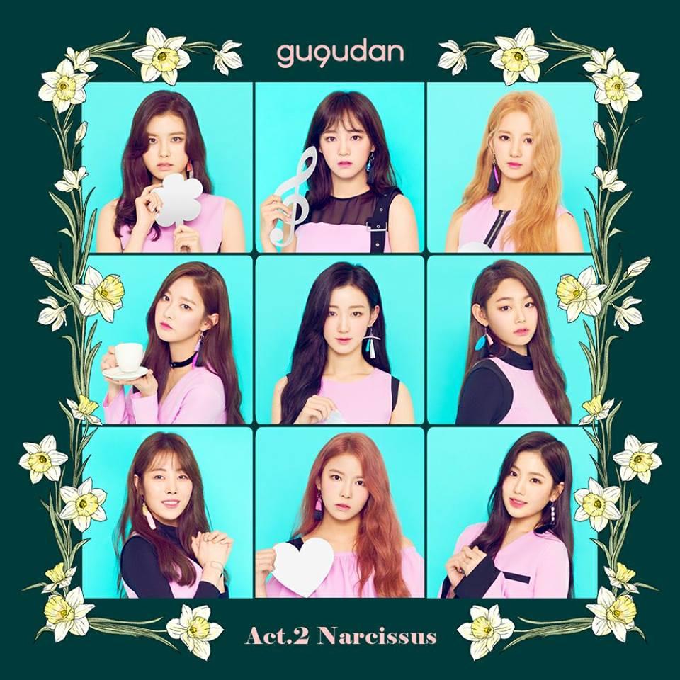 gu9udan 9名 gu9udan在韓文中是九九乘法表,寓意著九種不同的魅力九位少女所組成的團體