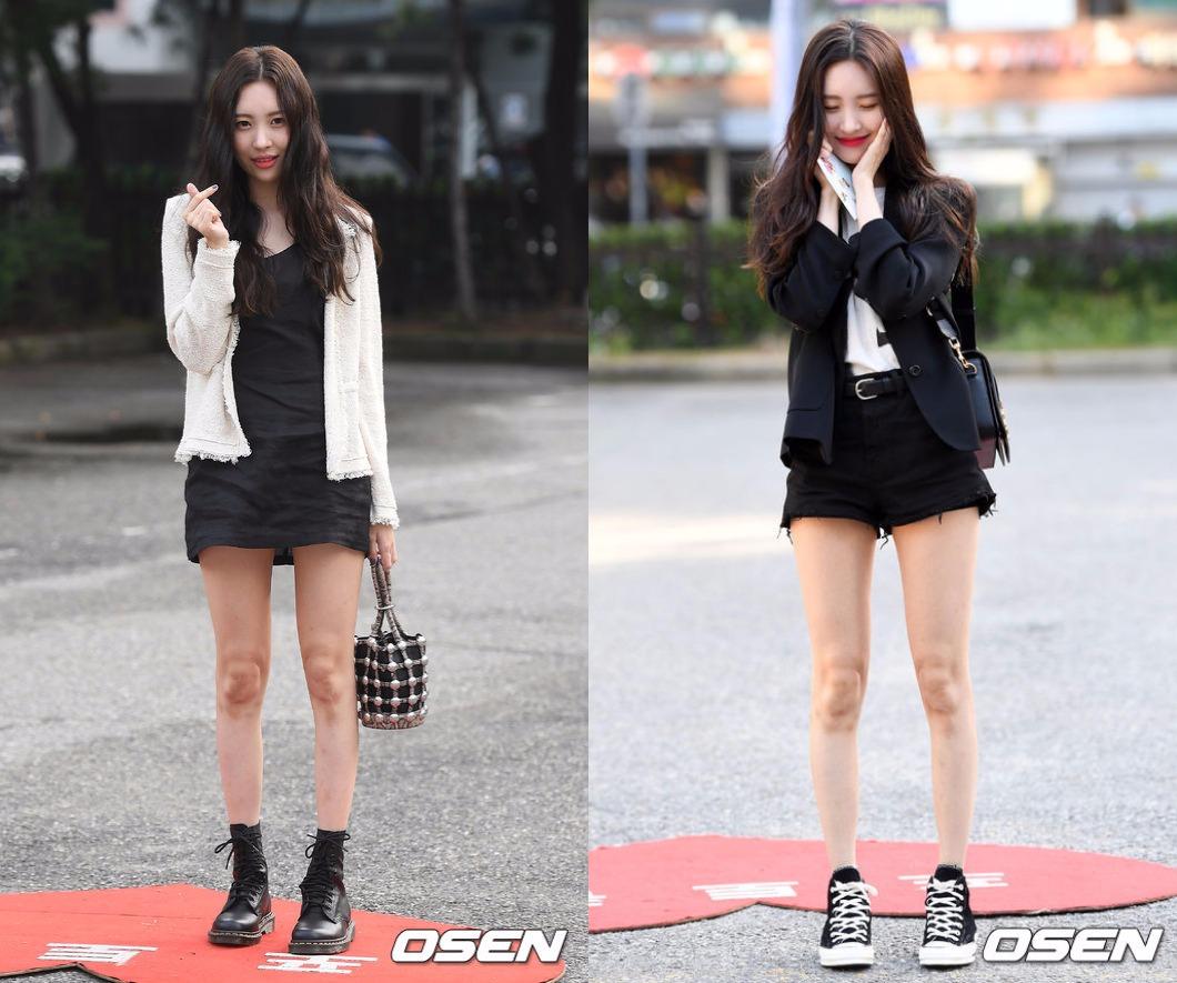 而SunMi這次回歸不只主打歌《Gashina》引起討論度,就連身材也是大家關注的重點,尤其是超修長細腿可是讓不少女生粉絲都稱羨啊~~~