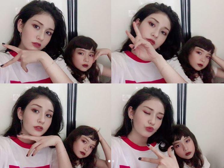 希望從小就展露大將之風的Evelyn 在不久的未來,也可以實現歌手風向,像現在一樣有自信的和姐姐Somi一起站上舞台啊!