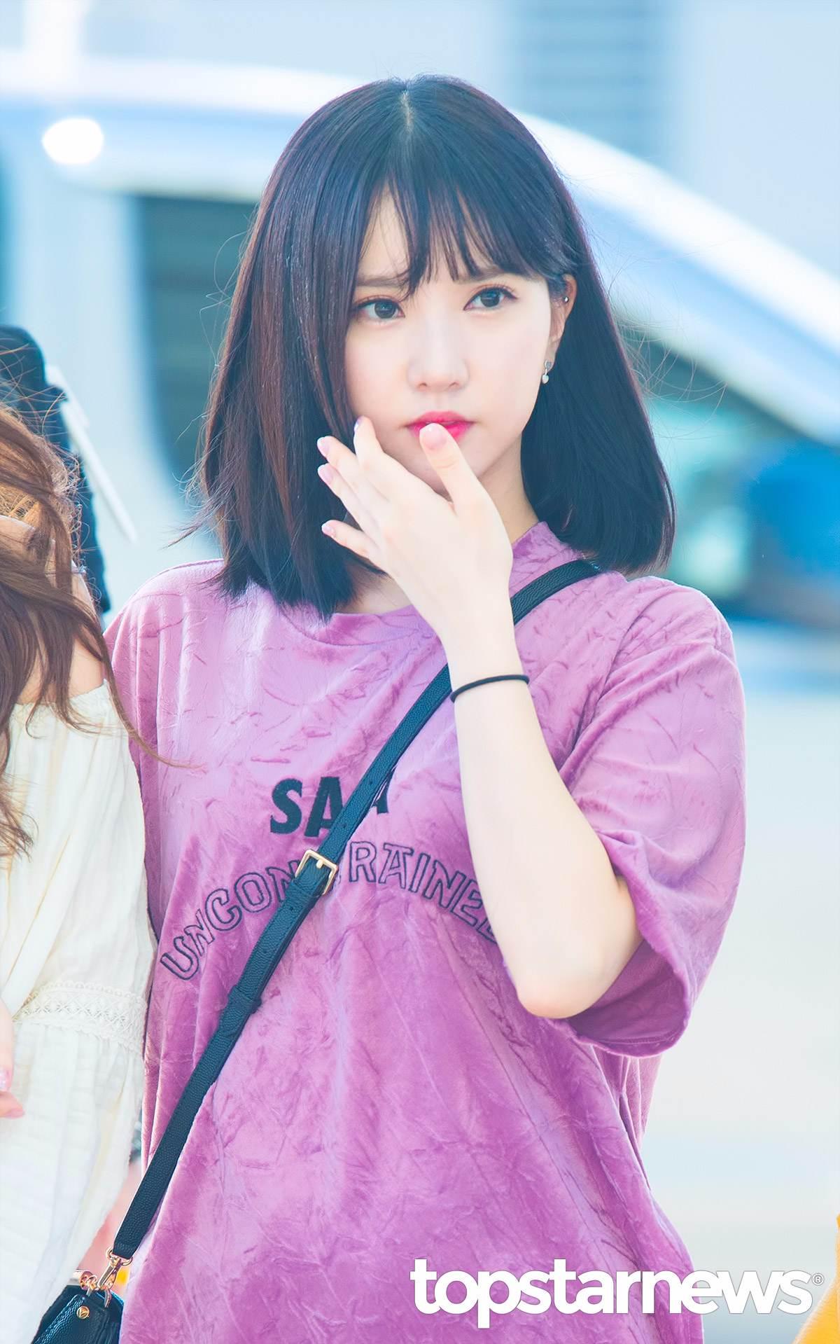 #GFRIEND Eunha 短髮的Eunha 水汪汪的大眼睛,說她是真人版洋娃娃也相信!