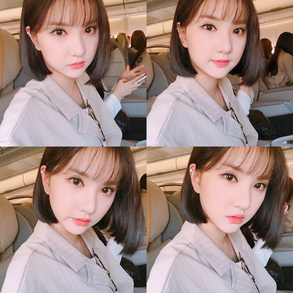 # GFRIEND Eunha Eunha出道前在學生時期就是放假就閉門不出的類型,至於她有多宅呢?Eunha宅到她的朋友們都說「拜託她出門一下」的程度XDDD