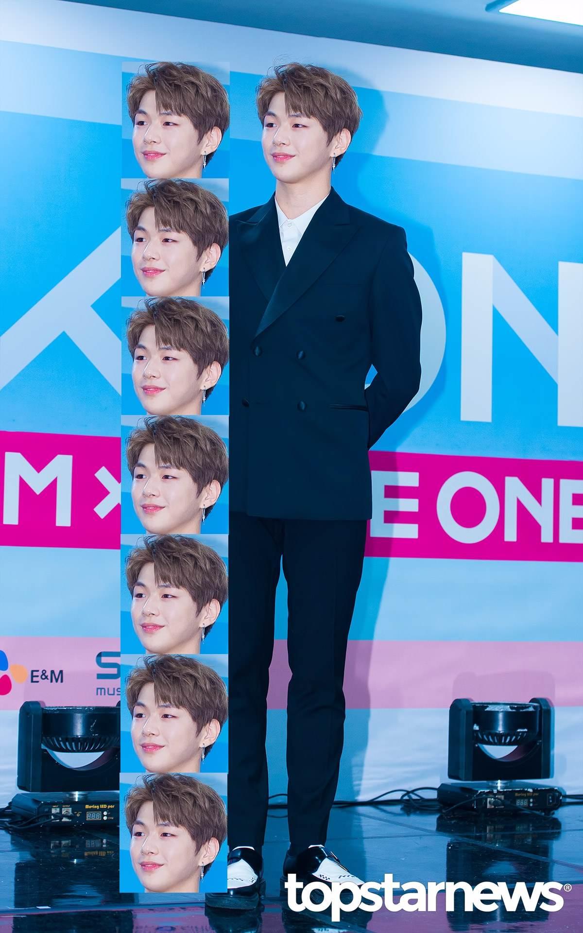 WANNAON成員姜丹尼爾呆萌的笑容擄獲不少姐姐飯的心~~ 身高180cm,體重67kg的他可是擁有超標準身材呢!