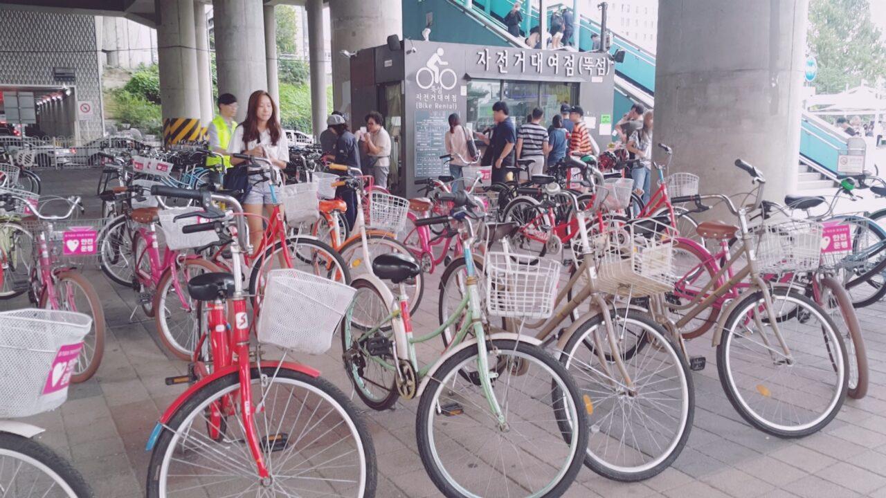一輛輛單車任你騎!