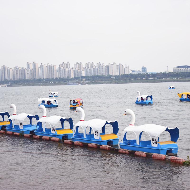 """在漢江邊打卡誰都會啊,下次要試一下""""特色漢江打卡法""""嗎?"""