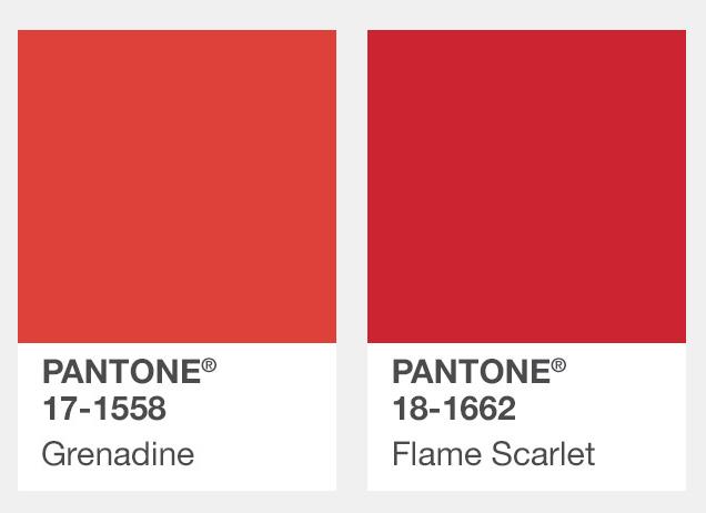 #正紅色 Grenadine石榴紅、Flame Scarlet鮮焰紅 今年秋冬還有這個不能錯過!看似誇張但只少應該要買一件的紅色單品!
