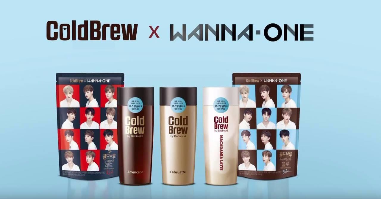 WANNA ONE代言最近上市的是咖啡廣告 瓶子好漂亮啊!! 來看看加上WANNA ONE會變成怎樣吧!
