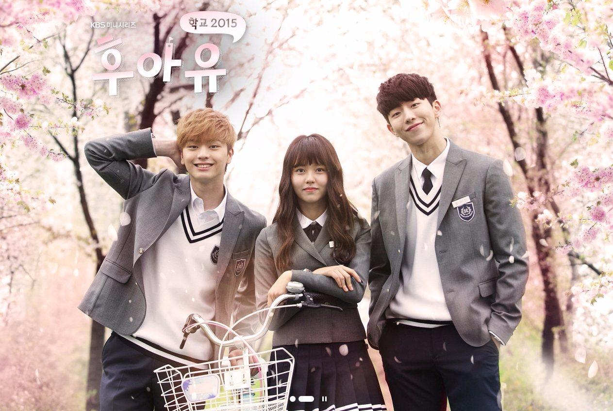 韓國的校園劇情一直以來都相當受到韓國的觀眾和台灣觀眾的喜愛! 像是《學校2015》可次在台灣受到熱烈的討論呢~ 而其中幾位主角儘管已經從高中畢業一段日子,但穿上校服依舊毫無違和感啊!