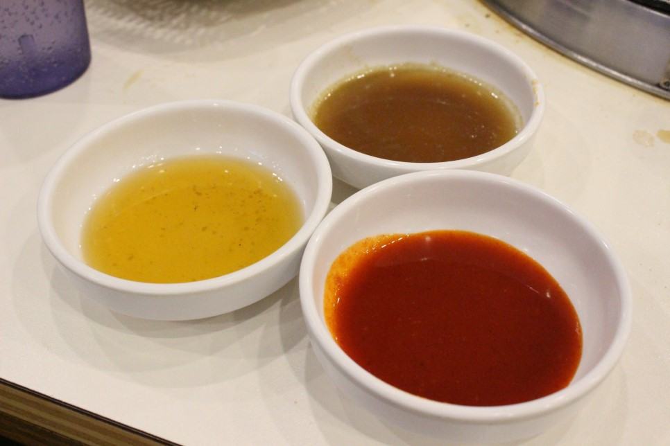 就連醬料也有香油加鹽、辣醬等的選擇!