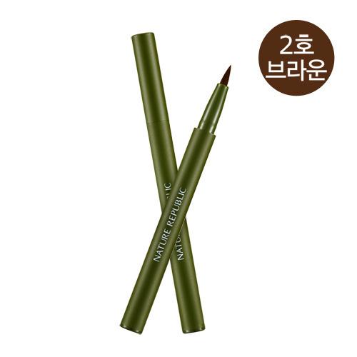 #NATURE REPUBLIC 其實它們家的商品很多都很出名,除了化妝品之外,保養品也是韓妞心中的愛,但是要說最受歡迎,甚至連Youtuber都愛用的產品,那就是這款花漾眼線筆啦!不少韓國女孩買了之後都是好評,甚至說買了一之後就無法不開始囤貨了XDD