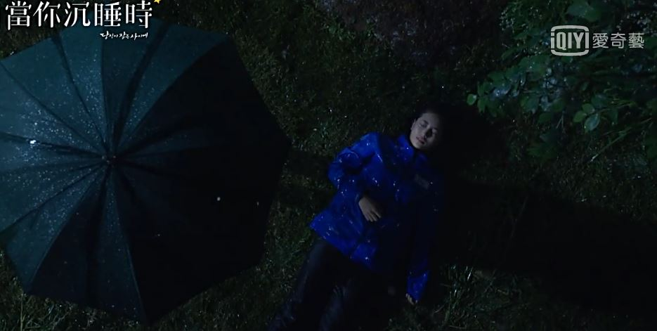 因此讓李宥凡相當擔心事件曝光,所以兩人聯手決定殺害知道整件事的記者南洪珠,這一幕也就是出現在秀智裡的夢境,但丁宰璨也有夢到因此趕來救她...