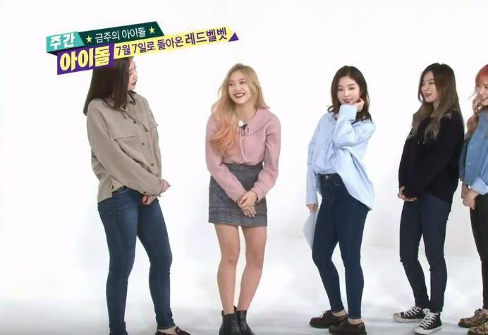 唯一會對Irene的美貌不賞臉的,大概只有每天跟Irene相處,已經習慣仙女在身邊所以才會在Irene撒嬌時爆笑的成員吧XDDD