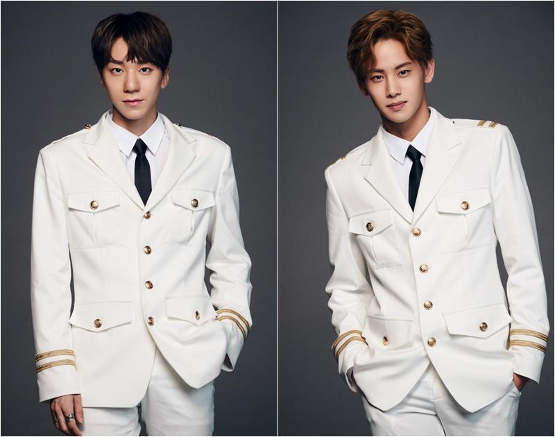 #HOTSHOT 兩位成員Timoteo、鎬廷參加,表演EXO的歌曲獲得在場觀眾的投票通過首場評分~~