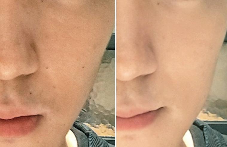 色號上不像女生底妝那麼白,更貼合普遍男生的膚色~也能簡單的修飾膚色以及瑕疵,能讓臉看起來更乾淨明亮一些!