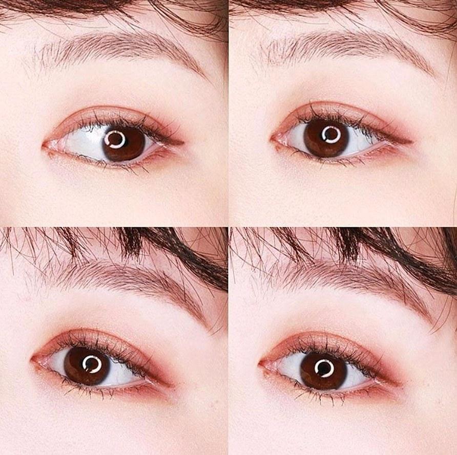 一盤直接搞定眼妝,不用再一顆一顆麻煩配色,是不是很方便? (而且女神發現眼影真的要上眼睛上才準啊!這款顏色真的超細,而且很貼眼皮!)