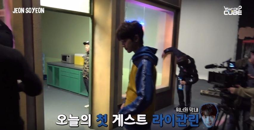 不僅忙於WANNA ONE的行程 他還出演了師姐全素妍的MV