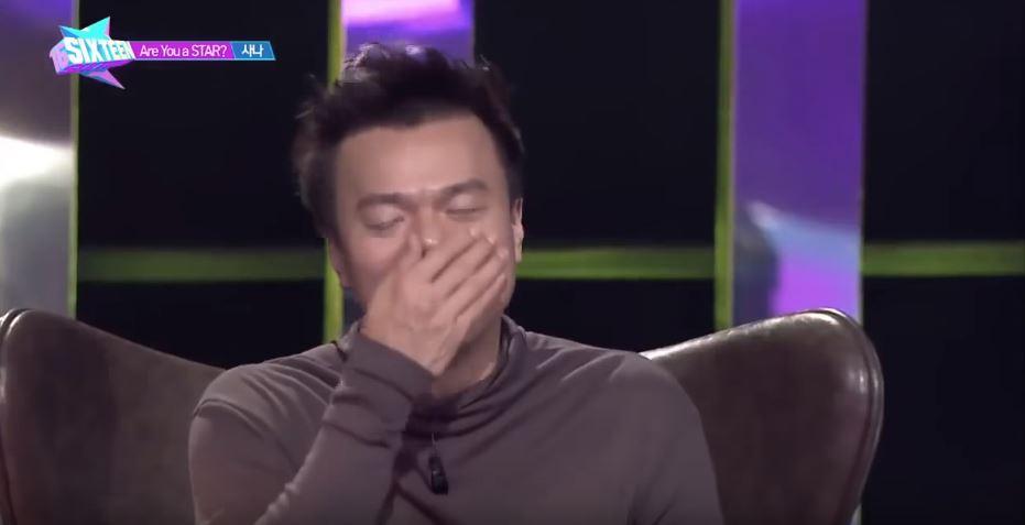 「啊!蔬菜不是有機的,沒有關係嗎?」 不只讓JYP爆笑,似乎也讓人能明白JYP說Sana非常有舞台魅力是怎麼回事了!